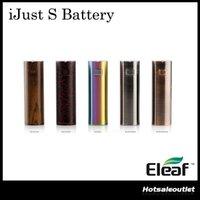 Nouvelle couleur Batterie Eleaf iJust S avec 3000mAh Haute capacité Meilleur match avec 4Ml iJust S Atomizer 100% Original
