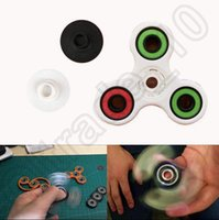HandSpinner Fingertips Спираль Пальцы декомпрессионной Беспокойство Игрушки для рук из нержавеющей стали Spinner стол Фокус игрушки OOA1124