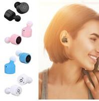 X1T TWS Ecouteurs Bluetooth Ecouteurs intra-auriculaires Ecouteurs intra-auriculaires sans fil CSR 4.2 Sport Ecouteurs stéréo pour Iphone 7 Airpods