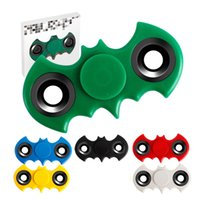 2017 New Batman Hand Spinner Gros Fidget fingertips spiral fingers Adultes Stress Relief Kids Gift with Retail Box