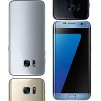El smartphone del borde del Goophony S7 5.5inch la base MTK6580 del patio puede demostrar 4G / 64G falsifican 4g lte Marco del metal La pantalla curvada