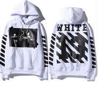 High Quality OFF WHITE Hoodies Men Women Real Tag Brand Clot...