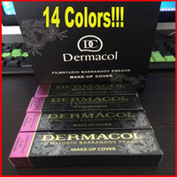 Dermacol Base Makeup DERMACOL Cover Extreme Covering Foundation Гипоаллергенный водонепроницаемый 30 г Дермакол Тату-бренд Skin Concealer