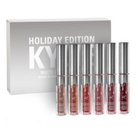 KYLIE Holiday Edition Mini lip gloss Kit kylie MATTE LIQUID ...