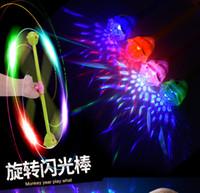 Amazing LED Light toys LED light sticks rotating Toy Luminou...