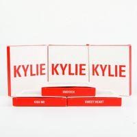 2017 Nouveau Kylie Valentine Edtion Mini avec ombre à paupières Lipstick liquide Longue durée 3 versions Kylie Valentine Cosmetic Eye Shadow