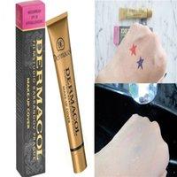Hotest Dermacol Base Maquillage Cover Primer Concealer Professionnel Face Contour Palette avec boîte noire ou blanche Haute Qualité Livraison gratuite