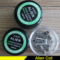 Newest Alien Fused Clapton Coils Mix Twisted Flat Twist Wire...