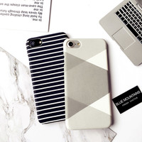 Black And White Brief Stripe Cell Phone Cases For Apple Ipho...