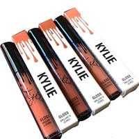 Kylie Lip Kit Par Kylie Jenner Rouge à lèvres Kylie Lip Gloss Liquide à lèvres Matte 15 Couleurs Lipliner Make up