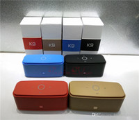 Outdoor Bluetooth Speakers K9 Touch The keys Wireless Subwoo...