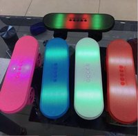 manufacturers Christmas Gift LED Flash Kick scooters Mini bl...