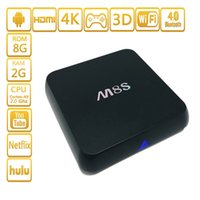 Factory M8S Android 4. 4 TV Set Top Box S812 Quad Core 2G WIF...
