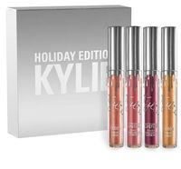 Newest Kylie Holiday Edition Kit 4pcs Matte kylie jenner Liq...