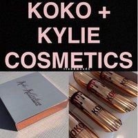 1: 1 Qualité Un maquillage le plus récent 4pcs / set KYLIE Liquide lustre mat de lèvre rouge à lèvres KOKO Kollection par les cosmétiques kylie mis imperméable Livraison gratuite