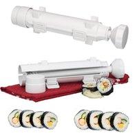 DIY Главная Суши Базука лагерь Шеф-повар Sushezi Roller Kit Sushezi лучший продавая инструменты для приготовления пищи 2016 Мода Простота в использовании для суши Инструменты Дешевые Продажа