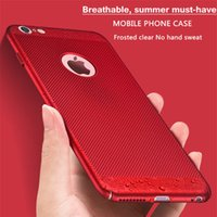 Case For Hollow Breathable Breathable Cooling Mesh Hard Phon...