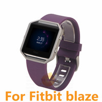 Bracelet souple de bracelet de bande de montre de remplacement de sport de silicone de nouveau pour l'expédition intelligente de montre 11color DHL d'éclat de Fitbit