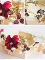 Charming Rhinestion Accessories Crystal Flower Wedding Crown...