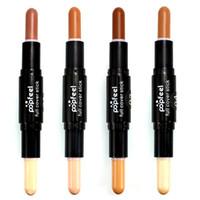 Double- ended Cream Concealer Pen Contour Stick Foundation St...