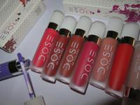 Prix d'usine Doses de couleurs Rouge à lèvres liquide et à lèvres Lipgloss Livraison gratuite DHL