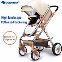 Portable baby stroller Baby car Folding child trolley Conven...