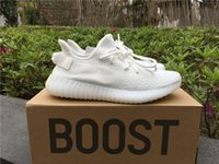 Drop Shipping 350 Boost V2 Triple White CP9366 Boost 350 V2 ...