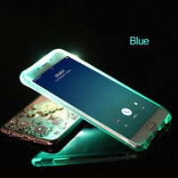 For Samsung Galaxy S6 S7 Edge Case LED Flash Incoming Call L...