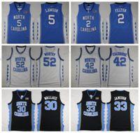North Carolina Tar Heels College 42 Jerry Stackhouse Jersey ...