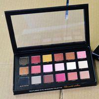 18 цветов Палитра теней розового золота текстурированные палитры макияжа Тени для век Beauty Palette Матовый Shimmer бренд косметики