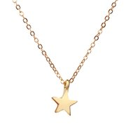 Dogeared Raising Star meilleurs voeux Lucky Tiny Charm Necklace pour filles Silver Gold Plaqué Clavicle ChainsNecklace Women Jewelry With Card