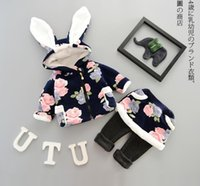 2016 Baby Girl 2pcs Suit Long Sleeve Girl Outfits Thickening...