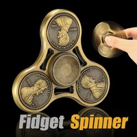 Fidget Spinner métal Spinner Anti-Anxiété Réducteur de pression The United States Coins Shape 2-3 Min à grande vitesse EDC Gyro Bearing Metal With Box