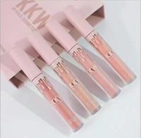 1PCS Kylie jenner kkw x by cosmetics lipgloss kim kardashian комплект 4 цвета Жидкие губные помады Розовый Кимберли ким кики кимми макияж блеск для губ