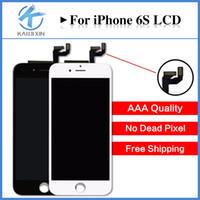 Perfect 3D touch pour iPhone 6S LCD 4.7 qualité AAA affichage écran tactile Digitizer Assemblée Livraison gratuite DHL