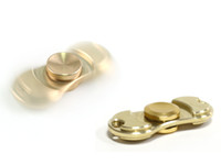 100% PURE Brass Cuivre Fidget Spinner Hand Spinners Torqbar Style Crazy EDC FingerTip Rotation HandSpinner 2017 Focus Jouets pour les enfants Adultes