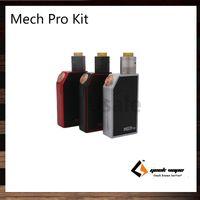 GeekVape Mech Pro Kit Avec Medusa RDTA Tank Mech Pro Mod Flux d'air latéral réglable Visible Crcuit Fire Button Lock System 100% Original