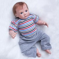"New Baby Dolls Silicone 20"" Lifelike Soft Baby Infant R..."