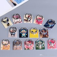 Blue Cartoon Charcter Cell Phone Ring Holder Customize Multi...