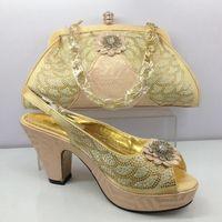 Shining stone peep toe shoes strange high heel free shiping ...