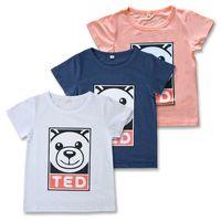 Boys T- shirt 2017 summer new children' s clothing baby b...
