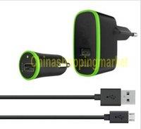 Haute qualité US EU 3 en 1 20w 10W 4.2A Fast Car Wall Charger 2 adaptateur adaptateur port pour iphone 7 6 plus 5 5se android Samsung s7 bord
