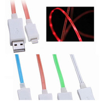 Glow in the Dark Light- up LED USB Data Sync Charger Cable Ch...