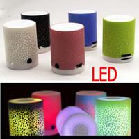 2016 New Arrival! LED Mini Speaker MP3 A9 TF USB Portable Mu...
