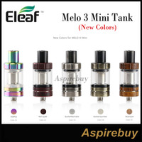 Eleaf Melo III Mini Atomizer 2ML 5 New Colors with Hidden Ai...