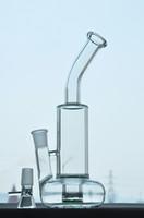 Bongs en verre Bubbler Fuction de tornade Bouée de sauvetage Cyclone de base Percolateur Tubes d'eau en verre Dab Rigs avec joint de 18 mm