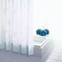 polyester modern stocked home customized curtain hotel hook or double pleated waterproof bathroom shower curtain bathroom shower curtain hotel hook free
