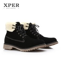 2016 Brand XPER Men Winter Casual Shoes Lace- up Snow Casual ...