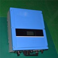 Инвертор с сеткой 4kw 230VAC 50/60 HZ Высокоэффективный инвертор, подключенный к солнечной энергетической системе