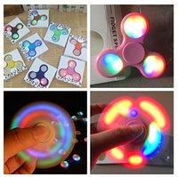 Top LED Hand Spinner plastic Alloy Fidget Finger Fingertip G...